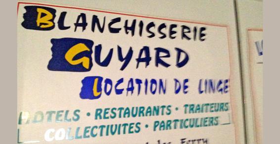 Blanchisserie Guyard à Laval - Location-entretien de linge et articles