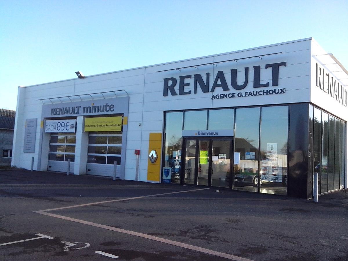 Garage Fauchoux, à Montauban-de-Bretagne, vente de voitures d'occasions