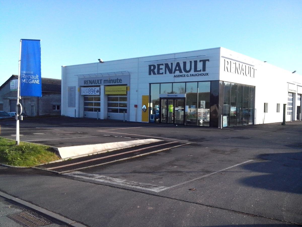 Garage Fauchoux, service rapide Renault Minute, Montauban-de-Bretagne