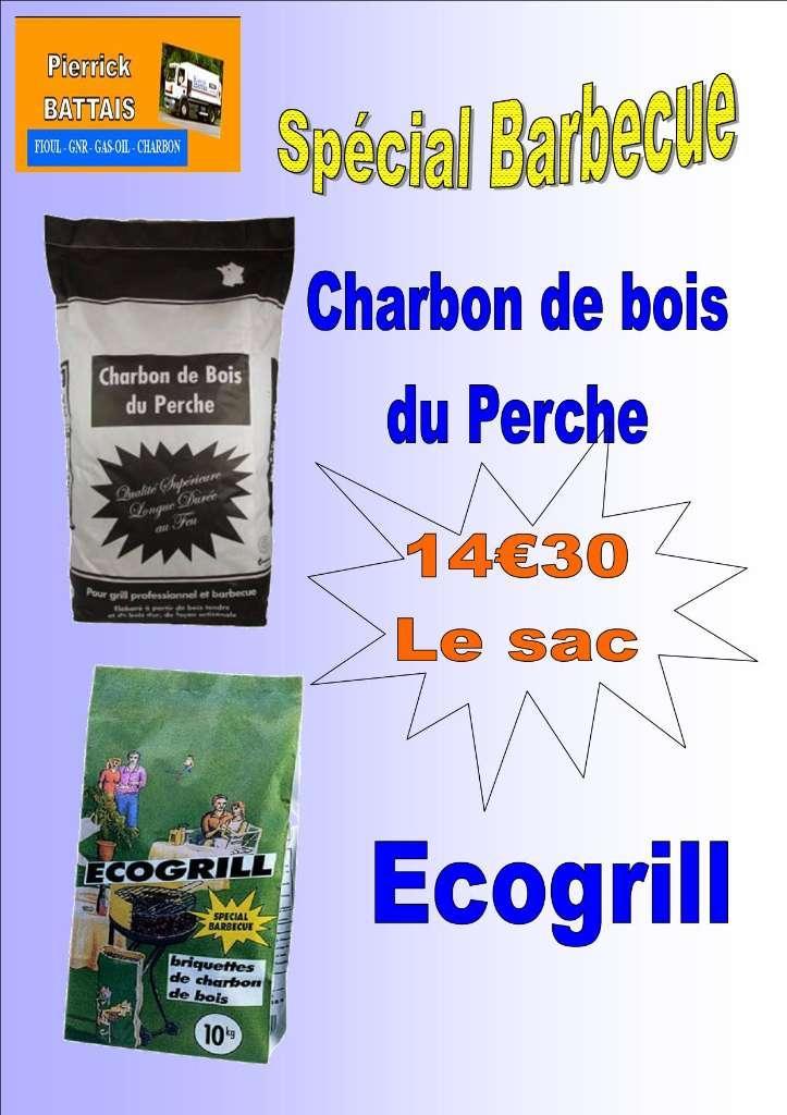 charbon de bois Spécial Barbecue