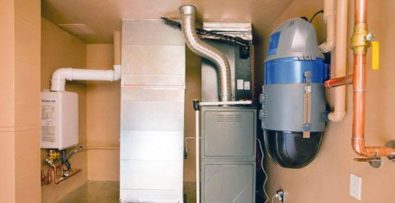 chauffage gaz - chaudière au gaz