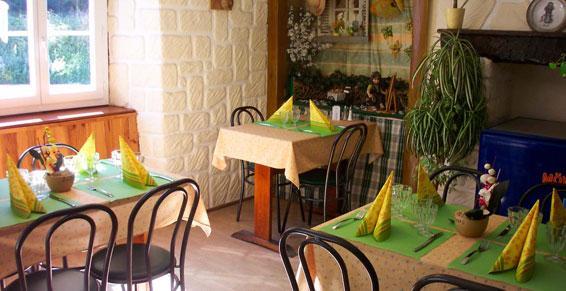 Restaurant - Petit coin cheminée Chamalières sur Loire