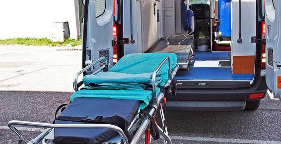 Ambulances - chariot brancard