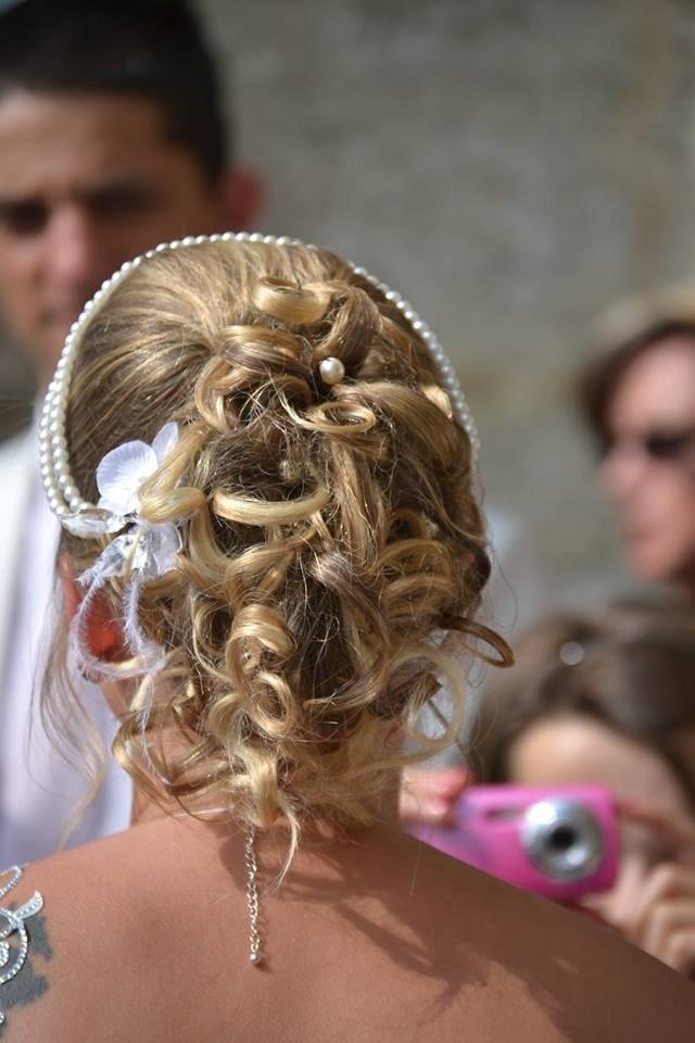 Chignon de mariée par votre coiffeur à Beaumont-le-Roger