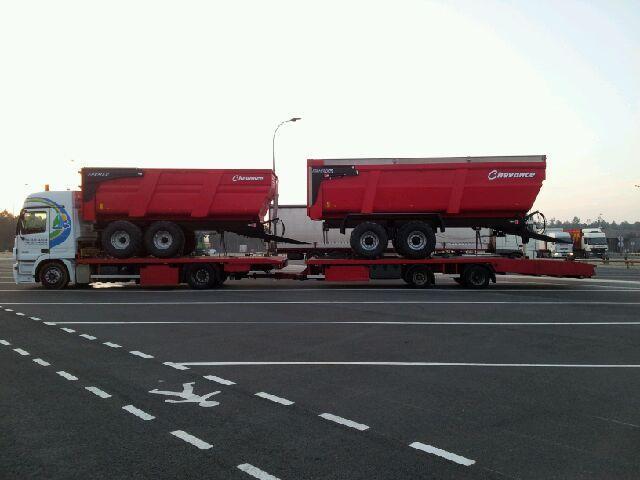 Transport de materiel agricole