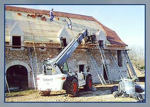 Réparation de tuiles et de toitures - Espédaillac (46)
