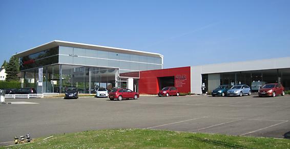 Sodiam Automobiles concessionnaires Garage dépannage Mayenne