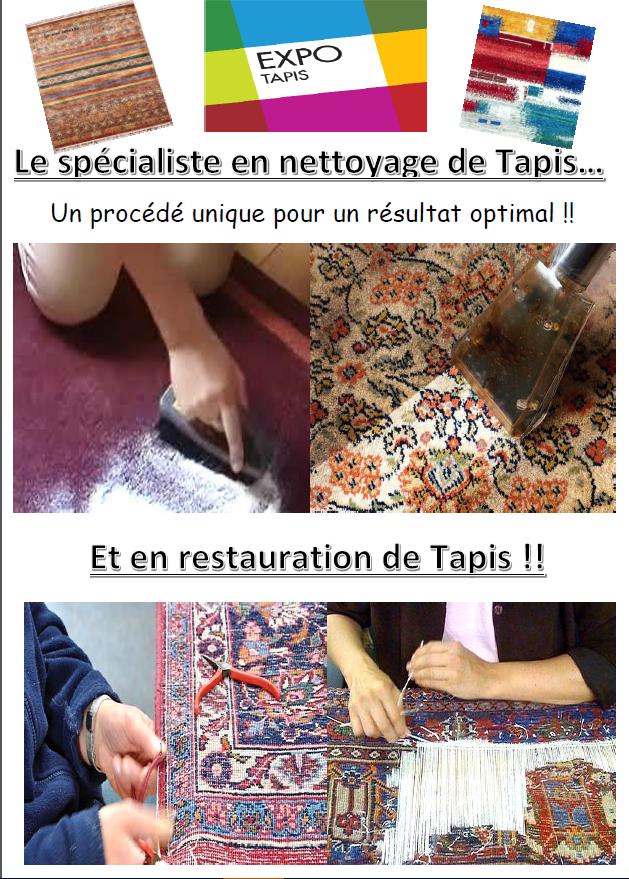 Pub nettoyage et restauration de tapis du 21082017