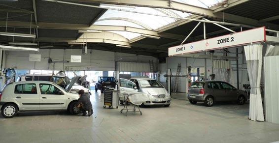 carrosserie peinture auto - atelier carrosserie