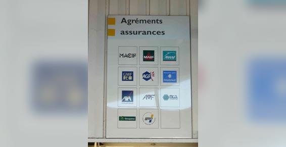 garage automobiles - Assurances agréées