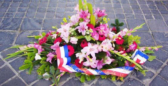 fleuristes - gerbe de fleurs