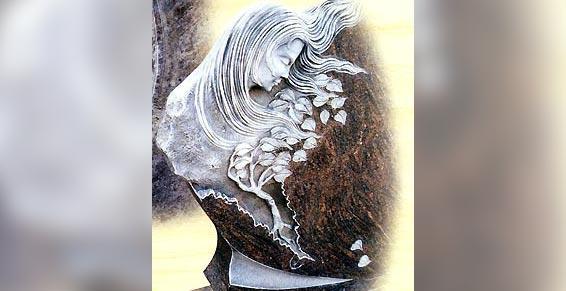 stèle sculptée