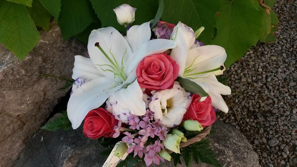 Composition florale - Acacia Fleurs - Fleuriste Cannes