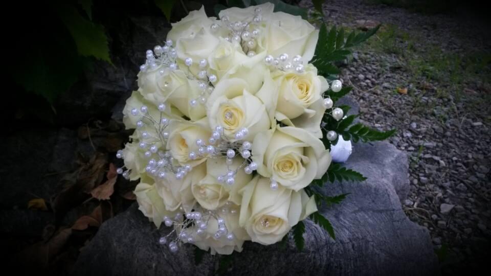 Bouquet de mariée - Acacia Fleurs - Fleuriste Cannes