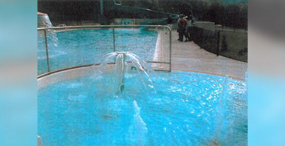 Création de piscine de plein air ludique à Axat