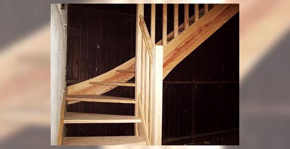 Menuiserie - escaliers en bois