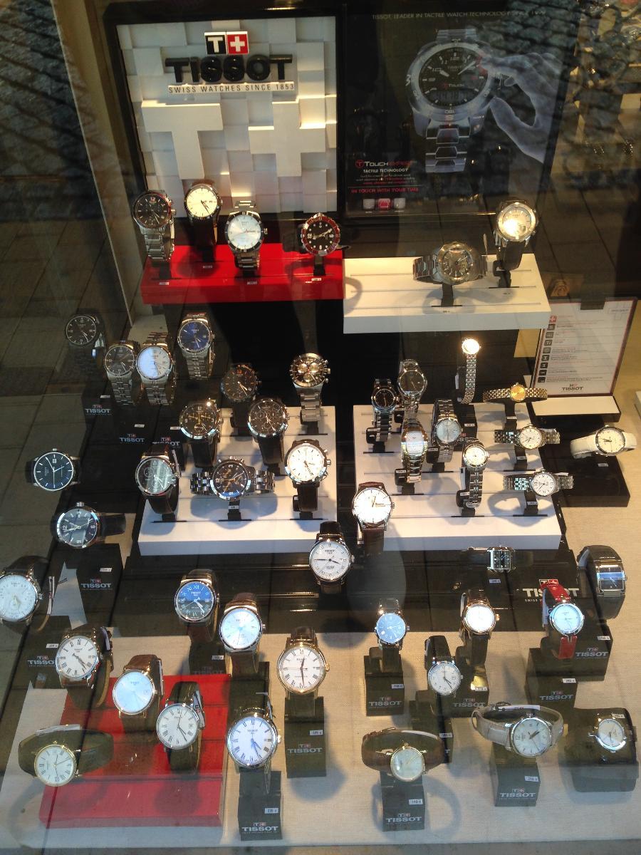 La Bijouterie Julien au Mans vous propose des montres Tissot