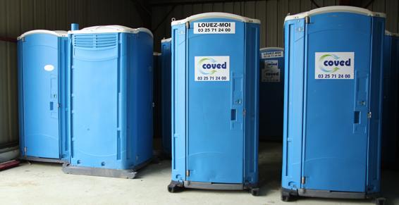 Location de toilettes - Coved dans l'Aube