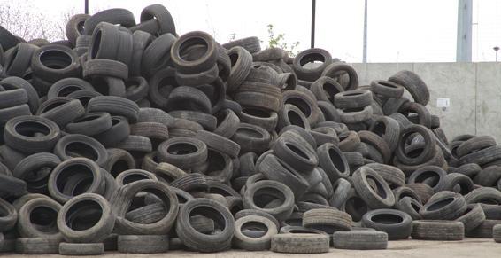 Recyclage des pneus - Coved dans l'Aube