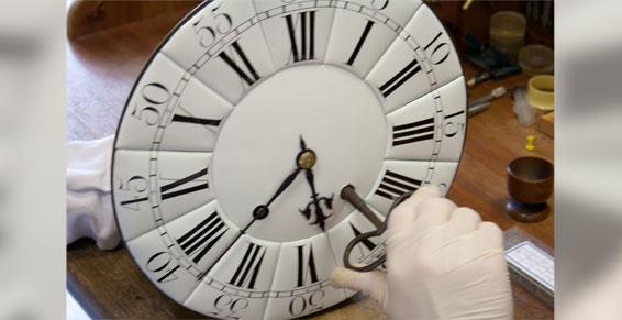 Cadran Cartel Louis XV - Horlogerie à Bordeaux