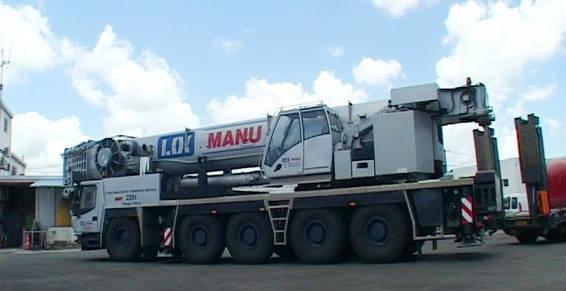 Jusqu'a 220 tonnes