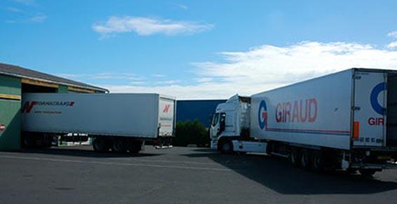 garages poids lourds - camions
