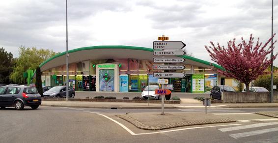 Grande Pharmacie de l'Europe à Montélimar dans la Drôme