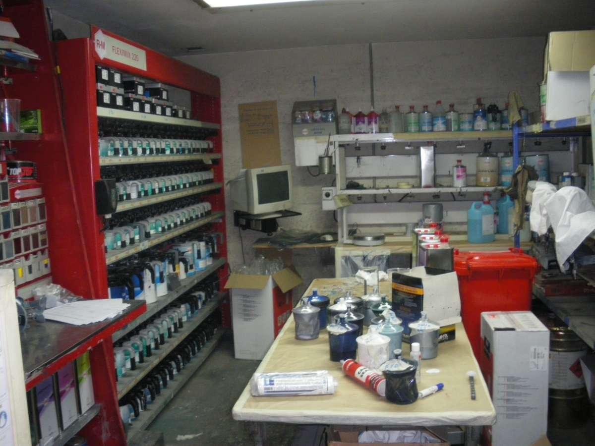 Laboratoire de peinture