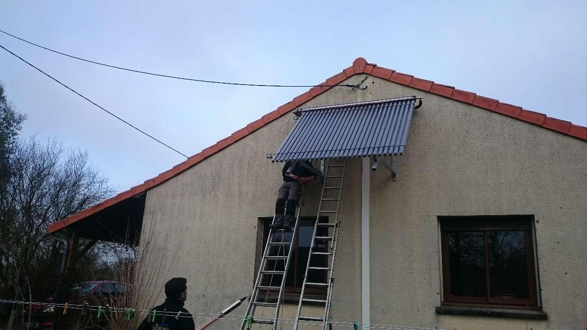 Dessevre Uzureau pour les panneaux solaires près de Jallais