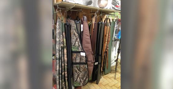 Armureries - Étuis à fusil ou carabine et sonnaillons