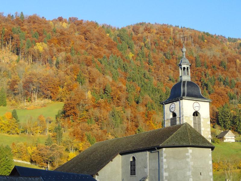Le clocher - Dingy st Clair