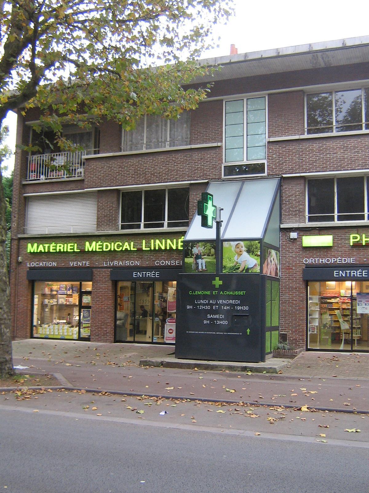 Pharmacie Linné à Roubaix dans le Nord (59)- Vente de matériel médico-chirurgical