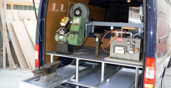 Aménagement de véhicules personnalisé