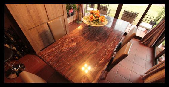 Table en Sequoia