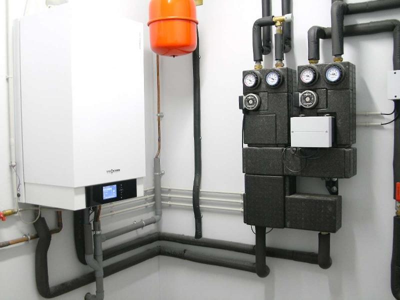 Chaudière à condensation installée dans l'Hérault