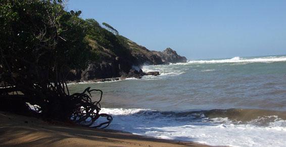 Spot de surf au loin Restaurant - Le Ratelot à La Trinité