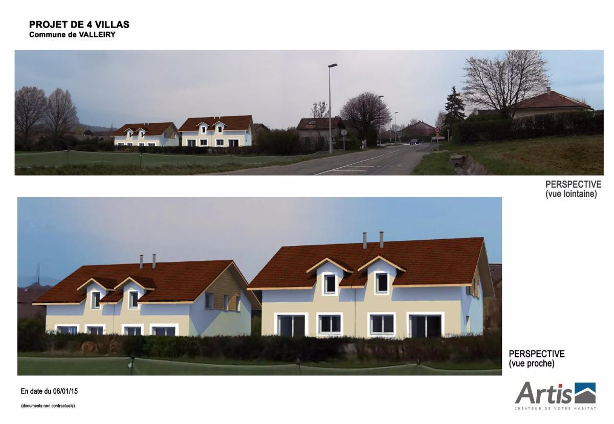 Maisons neuves Valleiry