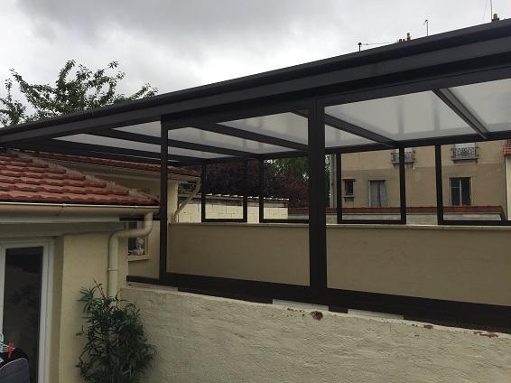 Couverture de terrasse et claustras