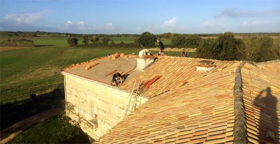 M. Gaudineau Jean Christophe - Travaux de rénovation de toiture
