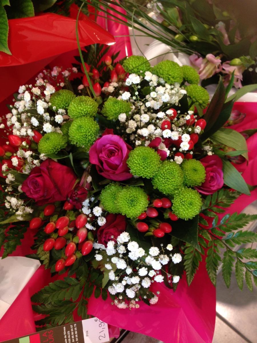 Bouquets de fleurs pour anniversaire Lola Fleurs Ales