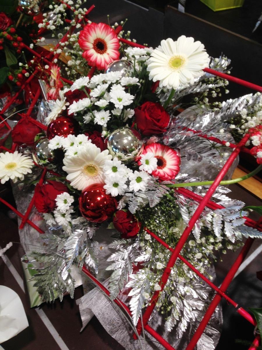 Bouquets de fleurs Noël Lola Fleurs Ales