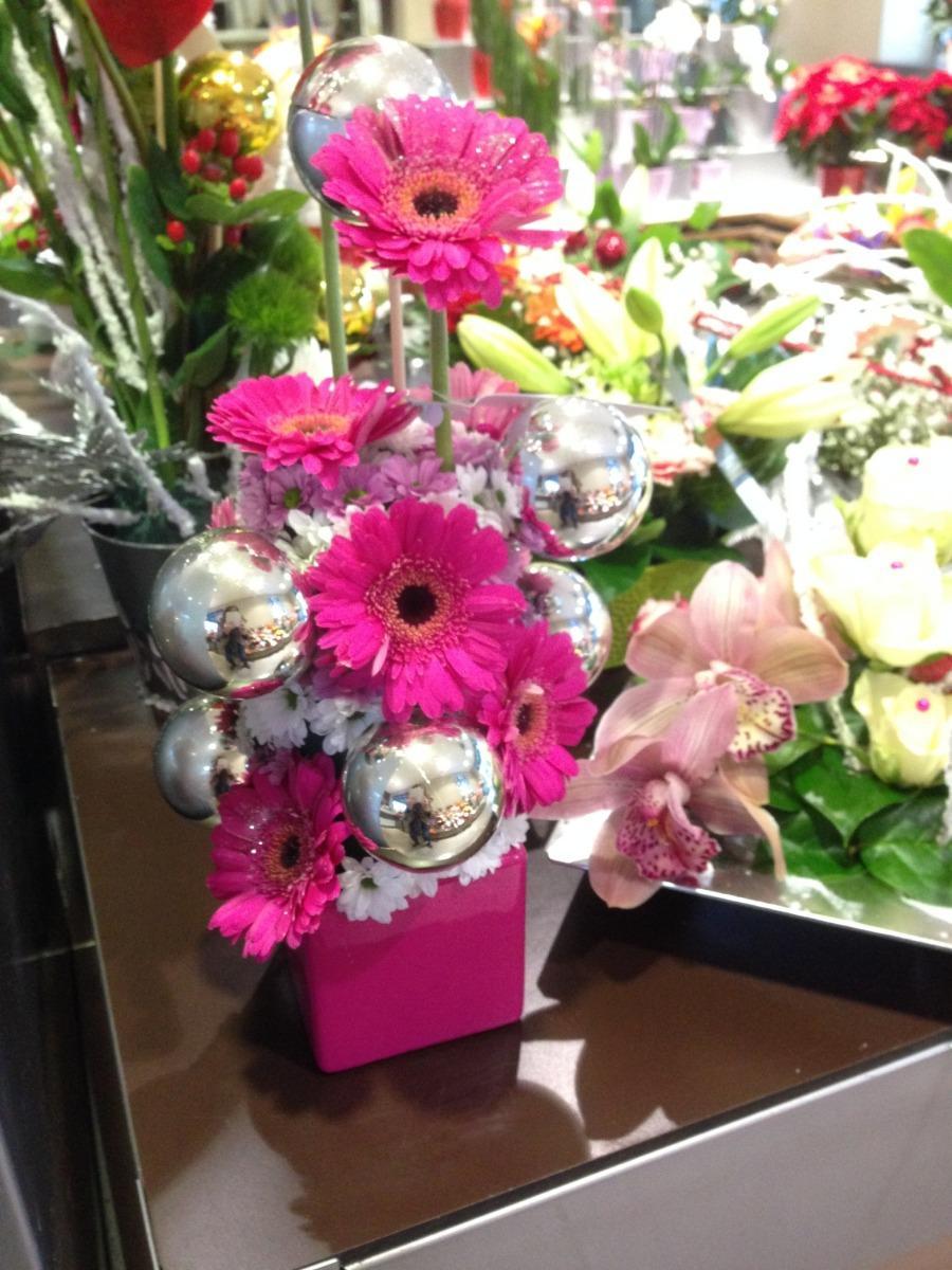 Bouquets de fleurs roses Lola Fleurs Alès