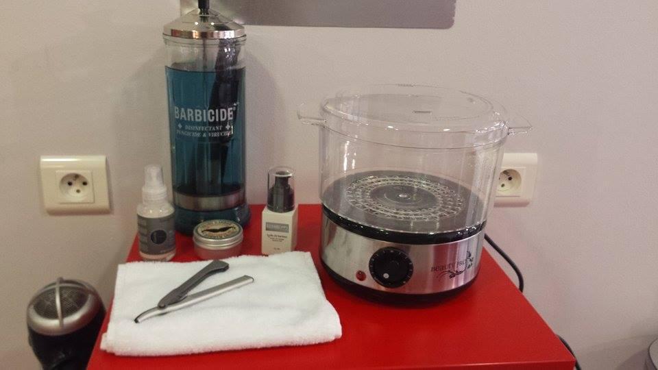 Salon de coiffure - Fécamp -Rasage à l'ancienne