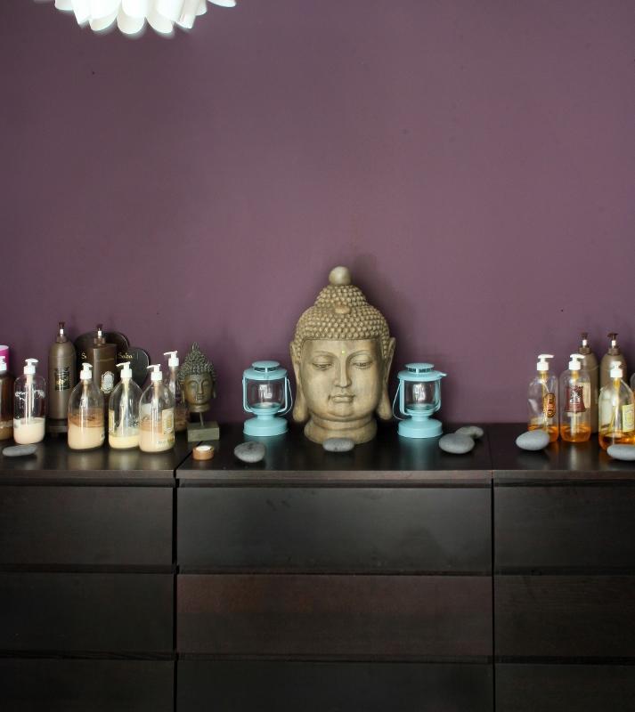 Cabine de soin zen et branché