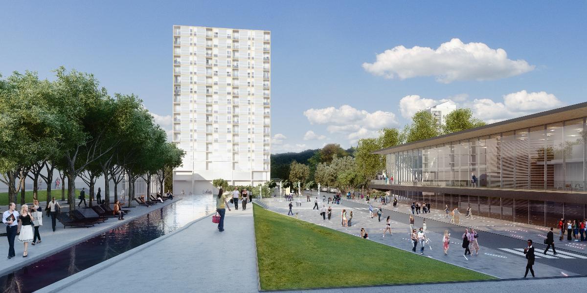 Place publique, Agence d'architecture Despagnet