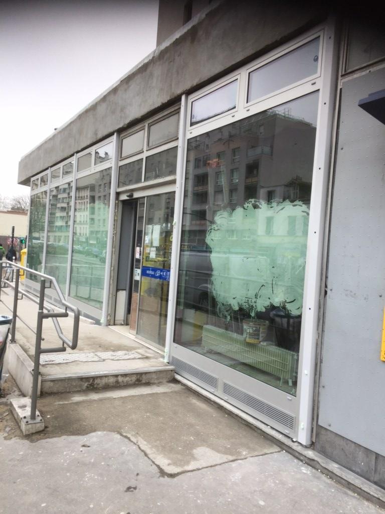 façade vitrée