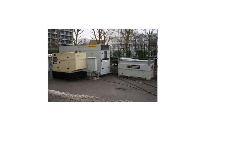 Groupe électrogène et groupe de secours Redebat à Villepinte
