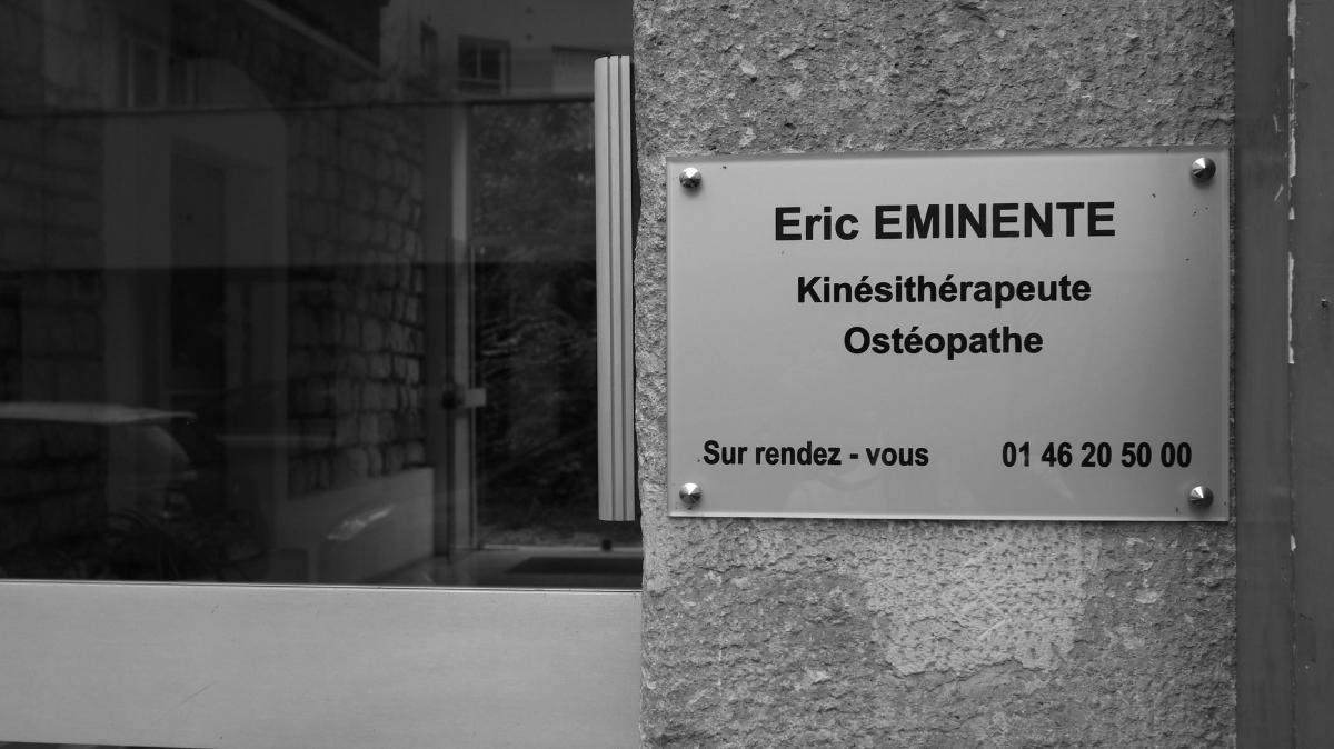 Eric Eminente Kinésithérapeute Ostéopathe