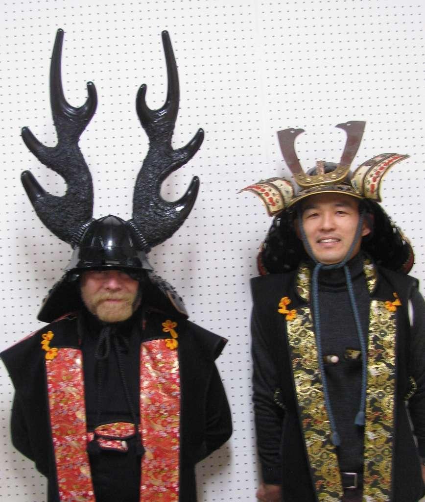 Deux Samourai a Tateyama