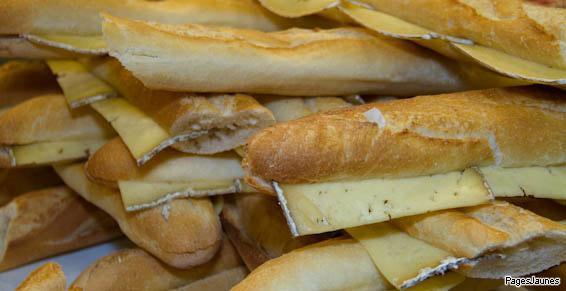 Sandwichs complets au Fournil de Birdy, à Talence